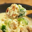家にあるもので、筋肉料理人風「鶏むね肉とブロッコリーのシュクメルリ風」にんにくマシマシレシピ