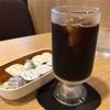 元町の「カフェ ルノアール 横浜元町店」でアイスコーヒー
