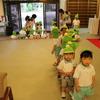 さきとり幼稚園きく組からタマネギが奉納されました。