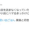 いつのまにか小説を読まなくなっていた「ちびねこ亭の思い出ごはん」(@nakanishi_mina さん)