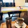 ヤマダ電機のカフェで子供も一服!