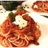 【グルテンフリー】トマトとツナの冷製パスタ