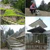 日本三大山城「霧ヶ城・岩村城址」圧倒的な標高の 幾重にも重なる石垣で、コーヒータイム ☕
