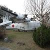 陸奥公園・PS‐1対潜哨戒機2。山口県大島郡周防大島町。