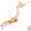 R {Nippon} パッケージのコロプレス図(塗り分け地図)に凡例をつける