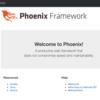 Dockerを使ってPhoenixを試す
