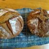西と東、お土産のパン