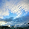 台風21号通過後の松山