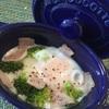 忙しい朝でもとっても美味しい卵料理。ストウブのココットを使って。