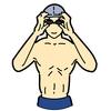 水泳による全身運動