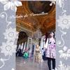 ヴェルサイユ宮殿 鏡の間の入口周辺♪ ハネムーン旅行記2014 フランス&イタリア♪
