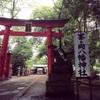 川口市 峯ケ岡八幡神社の森と、曲馬団