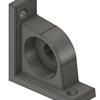 Fusion360で、ベアリング・ホルダーをモデリングする
