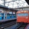 103系LA03編成阪和線貸出運用(10月9日)