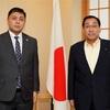 駐日カザフスタン大使の表敬訪問を受けた