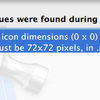 Application Loader で Icon.png: icon dimensions (0 x 0) don't meet the size requirements. エラー