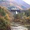 飛騨の秋景色 【鳩ケ谷ダム付近】