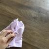 【オイル仕上げのMMテーブル】無垢材は油性マジックで落書きされても大丈夫