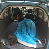 キャンプで車中泊してみた/車中泊の寝心地をよくするためにしたDIY工夫メモその1
