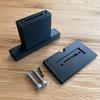 3Dプリンタでモニターを車のシートに固定する部品を作りました