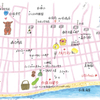 OZ TRIP夏号「沖縄・石垣島、白保」MAP挿絵