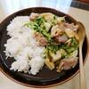 一番好きな肉野菜炒め【南蛮酢】
