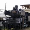 【南会津】会津田島駅にはC11形蒸気機関車が静態保存されています。