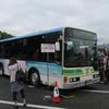 バスまつりと叡山電車。