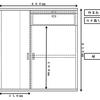 扉・作業台付き水槽台を自作する!DIYの注意点と図面公開