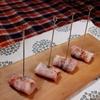 部屋キャンごっこで簡単おつまみ2つ!プルーンのベーコン巻き&ひよこ豆の素揚げ