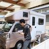 軽キャンの洗車