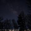 富士宮五合目駐車場から星空と夜景を撮影してきました