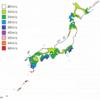基準風速Vo ~台風が良く来る地域はやっぱり大きいよね~