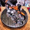 オートバイの模型を出すということ (その1)