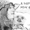 無料ソフトGIMPで2017年の年賀状を作成しよう!デッサン風の【オシャレはがき】編