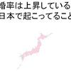 なぜ未婚率は上昇しているのか?今日本で起こってること。