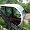 JR王子駅ホームから見える謎の鉄道「飛鳥山公園モノレール」に乗る。