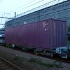 コキ73-2試験列車、ニーナ充当1092レなど 貨物列車撮影 5/30