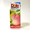 Doleピーチミックス100%はバナナ味を感じるミックスジュース、言うほど美味くない