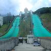 【夏旅信州】白馬村スキージャンプ台で高さにビビる