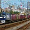 10月26日撮影 東海道線 平塚~大磯間 貨物列車3本 5075ㇾ 5095ㇾ 2079ㇾ