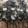 旧モデル特価!乗り降り楽々な自転車!