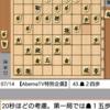 AbemaTV本戦トーナメント(藤井七段 vs 木村九段)第3局