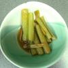 カボチャの「茎」料理♪