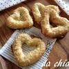 ハートのマカロン風クッキーパン