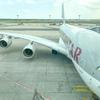 カタール航空(Qatar Airways) ビジネスクラス フライトレビュー A380