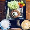 おひとりさまご飯  和風ハンバーグ