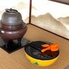 平水指と秋草の茶花