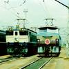 この1枚から 壮観!民営化直前1986年の新鶴見機関区公開で並んだ国鉄電機たち【2】