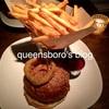 NYC Sohoにあるお洒落なレストランバーで熟成肉のバーガー♩